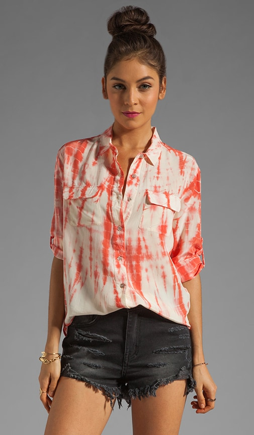 Sarah Silk Button Down Shirt