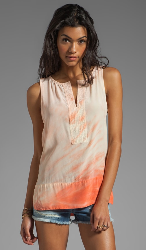 Miyoshi Silk Tie Dye Tunic