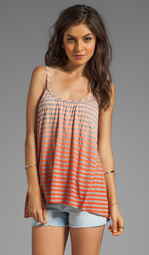 Cabarete Jersey Stripe Simple Cami