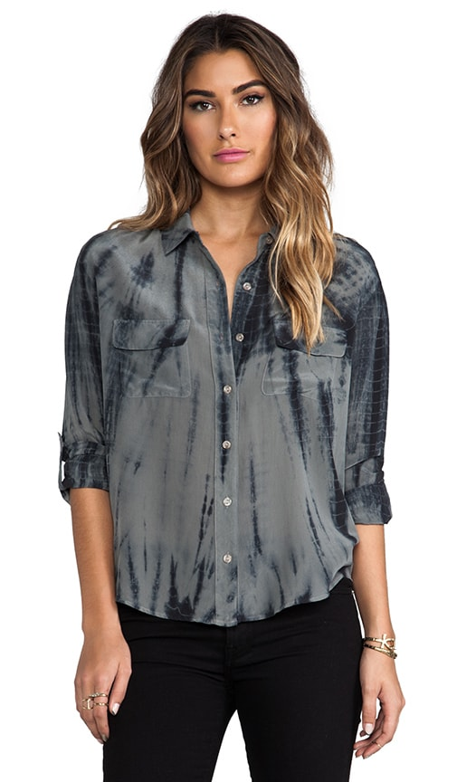 Foundation Silk Button Down With Pockets