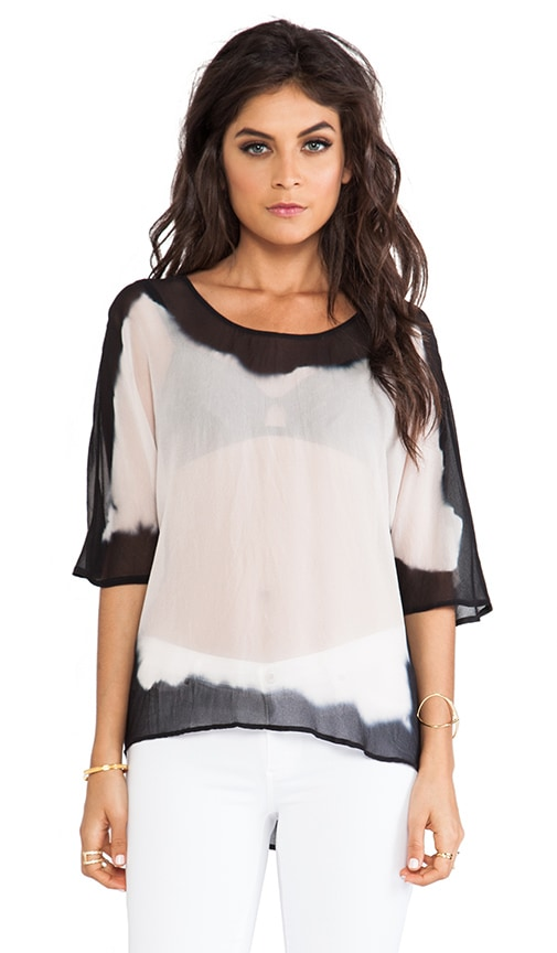 Mixed Silk Easy Top