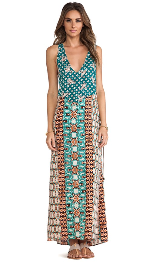 Braided Side Maxi Dress