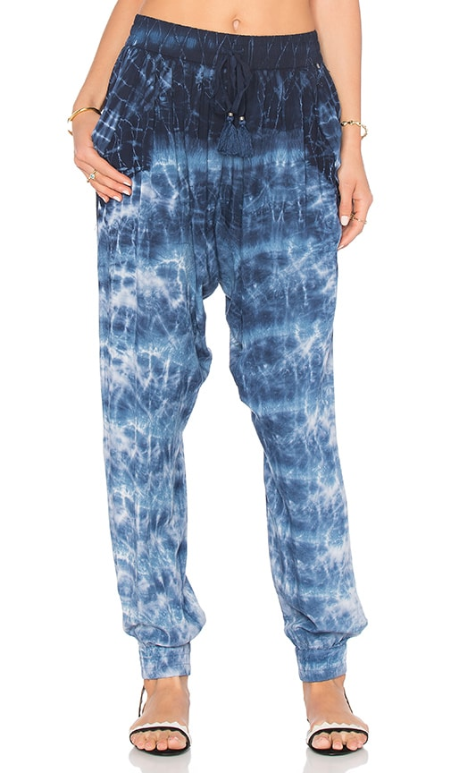 Gypsy 05 Drop Crotch Pant in Blue