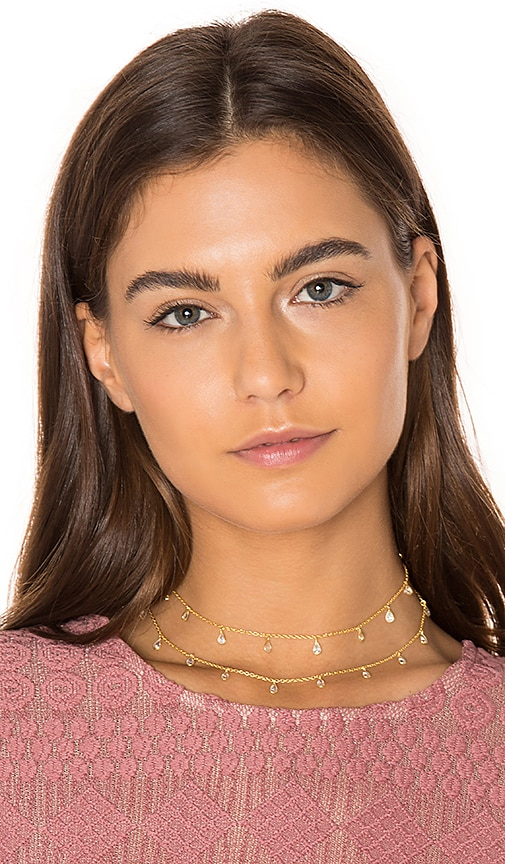 Haati Chai Florence Choker in Metallic Gold