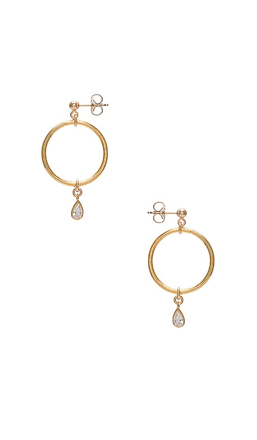 Haati Chai Merona Earrings in Metallic Gold