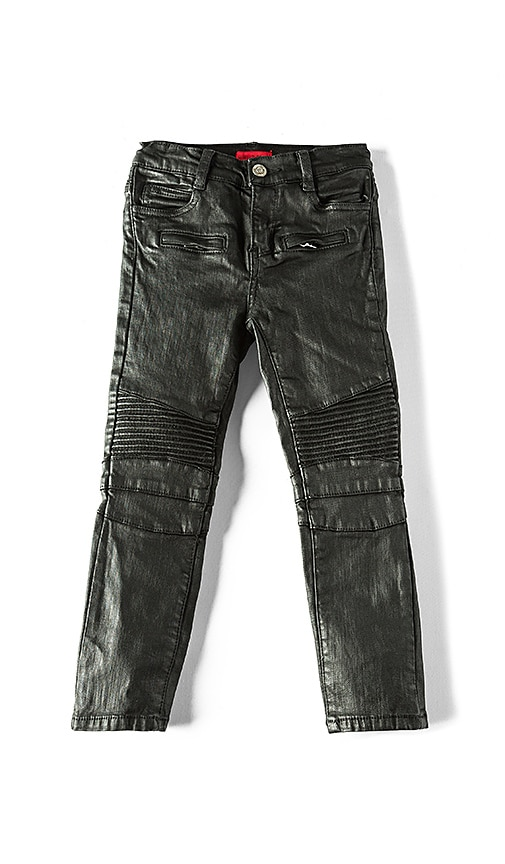 Haus of JR Clayton Biker Jean in Black