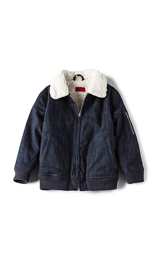 Haus of JR Ken Aviator Jacket in Navy