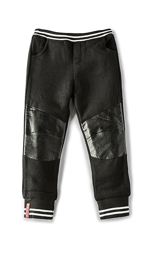 Haus of JR Teddy Sweatpant in Black