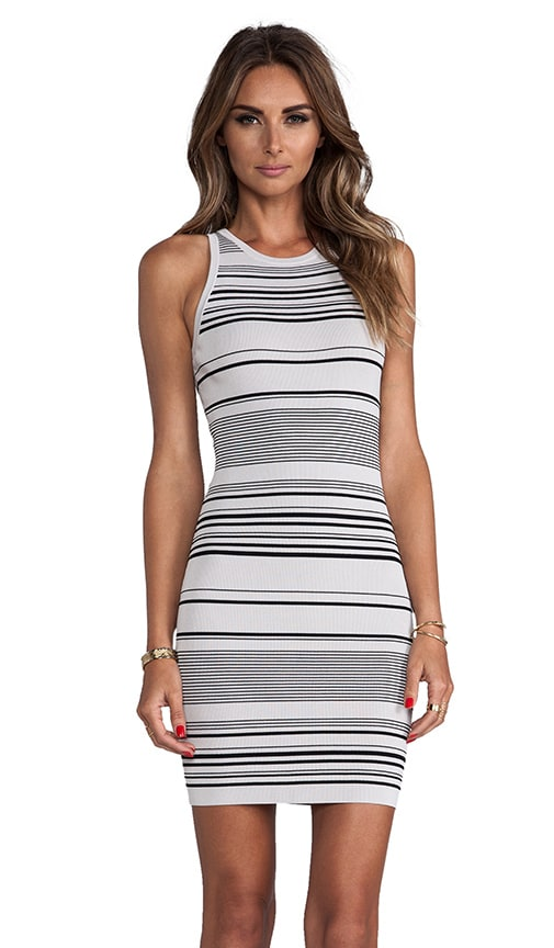 Stripe Tank Sweater Dress