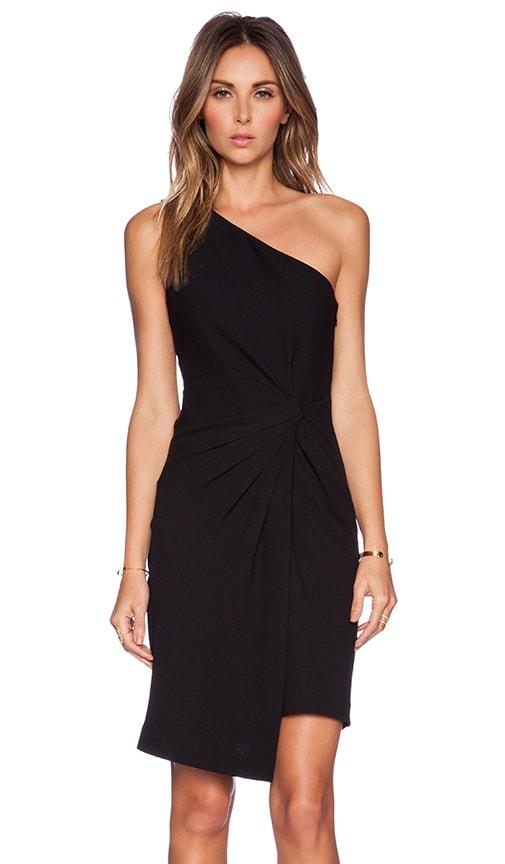 c8ac3d7acdc9 Halston Heritage One Shoulder Dress in Black