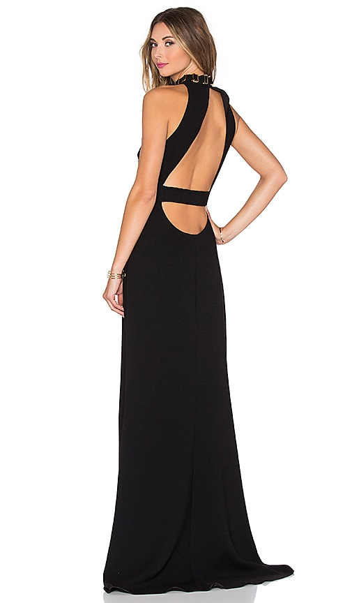 Back Cut Out Maxi Dress
