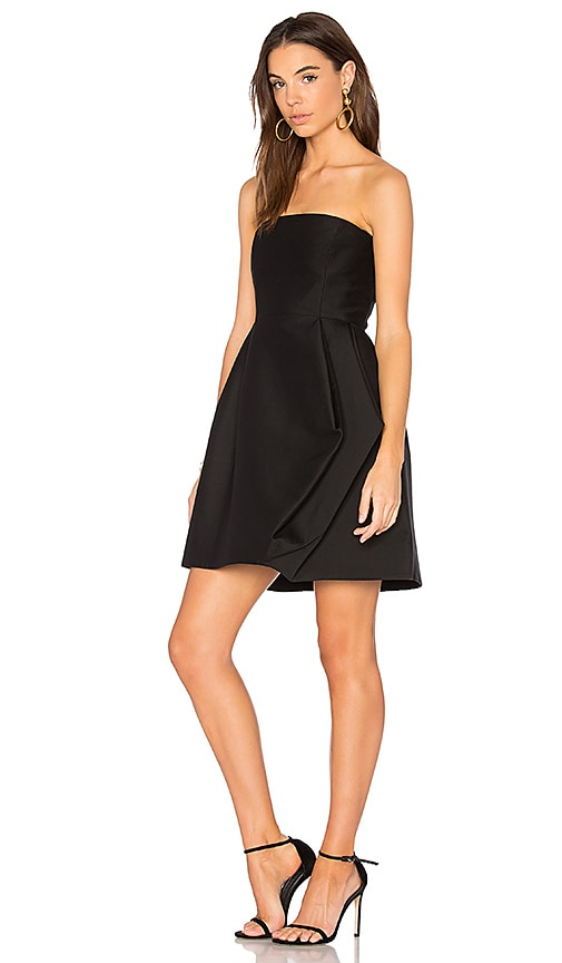 Halston Heritage Faille Dress in Black