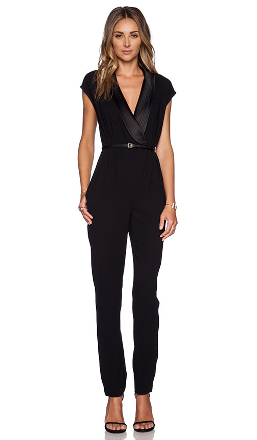 e04207231f5 Draped Jumpsuit. Draped Jumpsuit. Halston Heritage