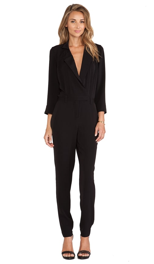 Lapel Detail Jumpsuit