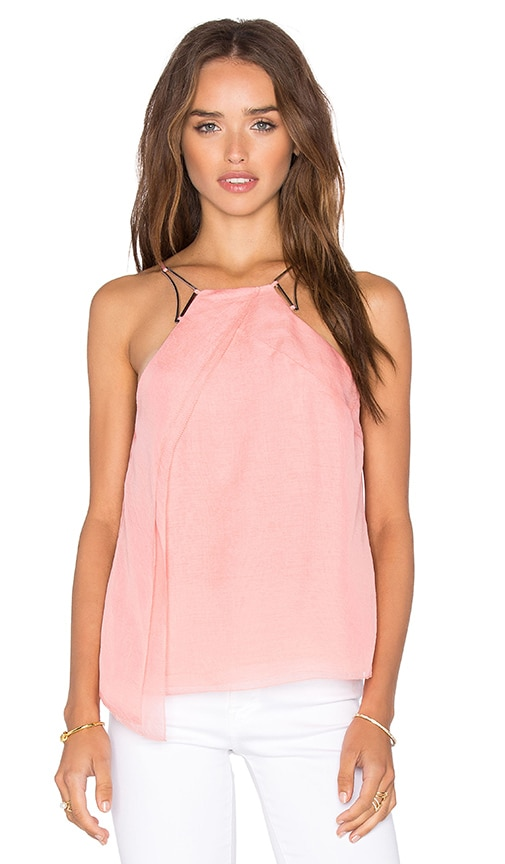 High Neck Drape Top