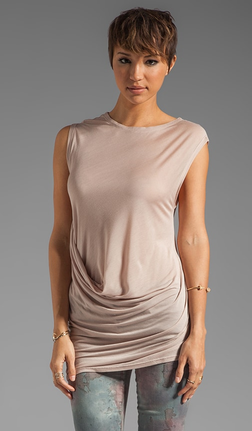 Side Drape Detail Top