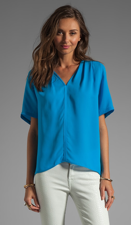 V Neck Drapey Top