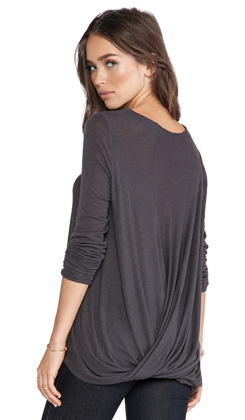 Twist Back Drape Top