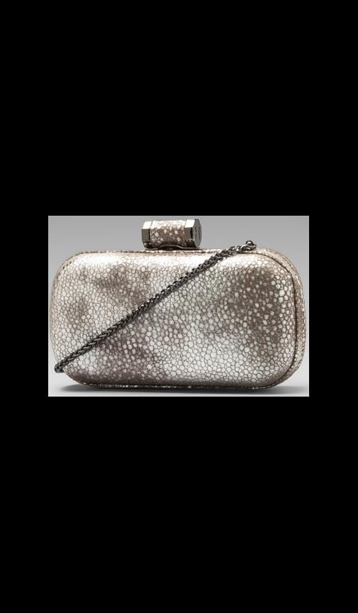 Evening Leather Oblong Minaudiere