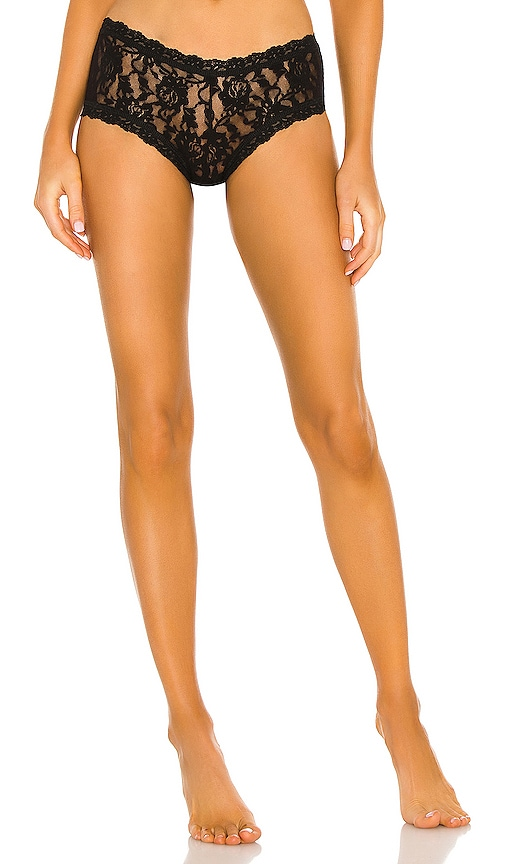 Hanky Panky Boy Short in Black