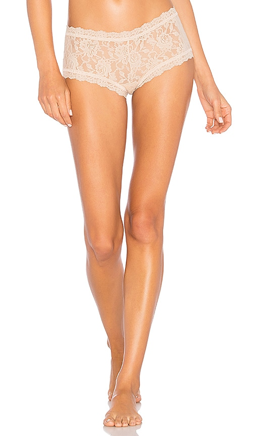 Hanky Panky Boy Short in Beige