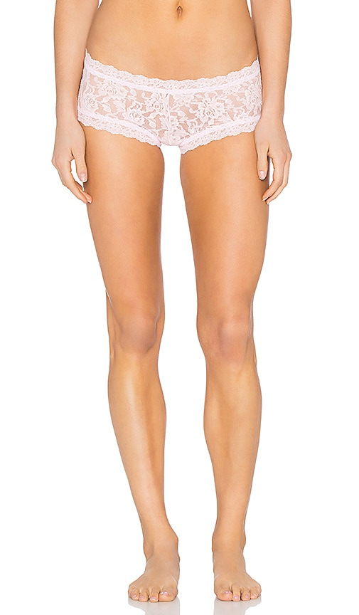 Hanky Panky Boy Short in Bliss Pink