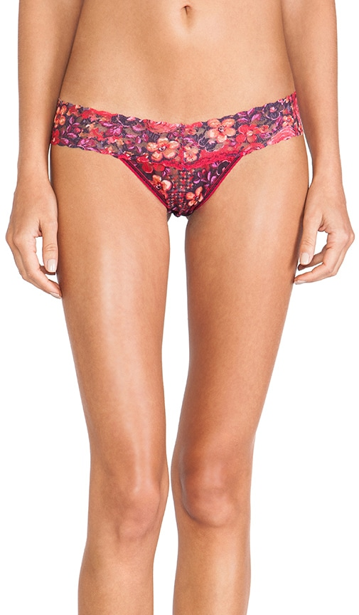Wonderfleur Low Rise Thong