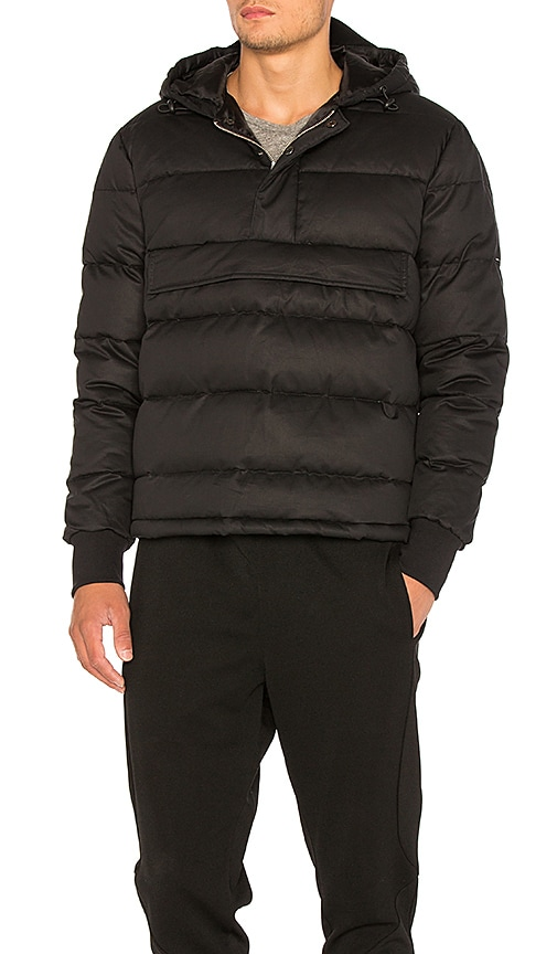 Han Kjobenhavn Bulky Hooded Jacket in Black