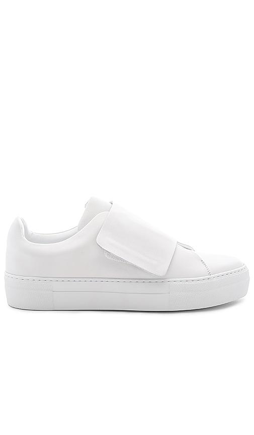 Han Kjobenhavn Big Velcro Sneaker in White