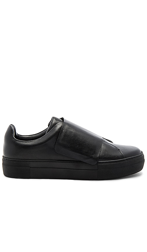 Han Kjobenhavn Big Velcro Sneaker in Black
