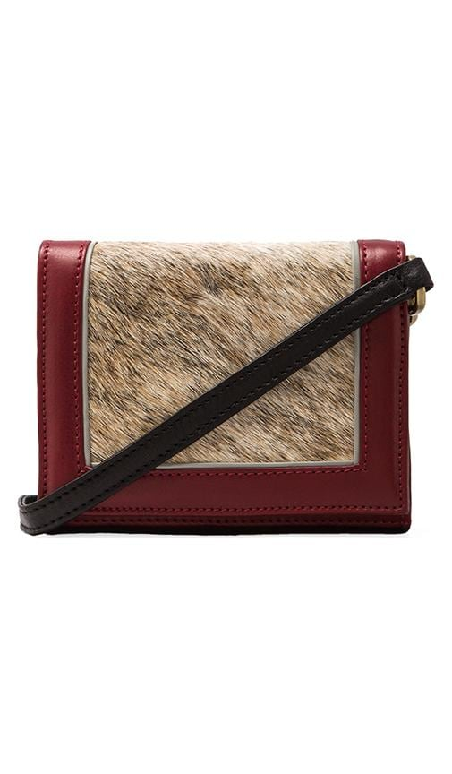 Mini Calf Hair Clutch