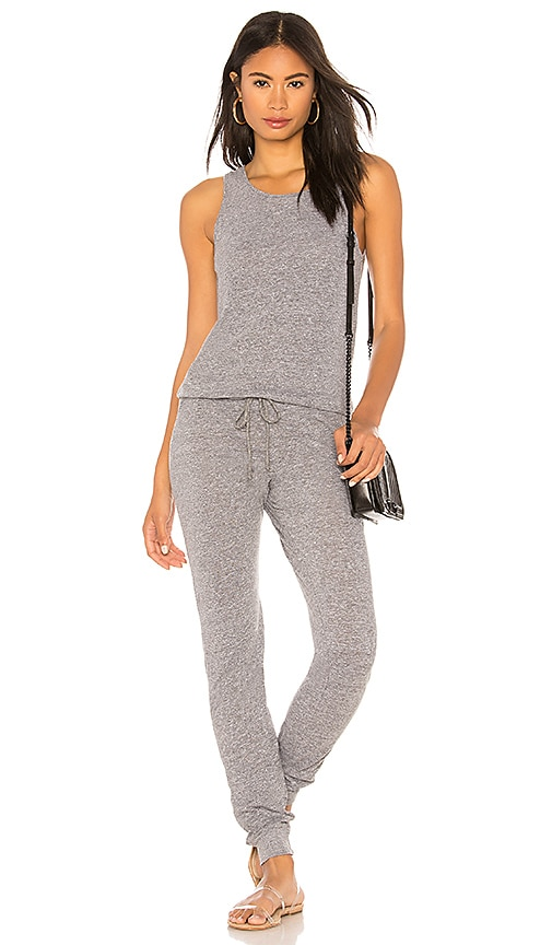 Jersey Tank Jumpsuit by Monrow