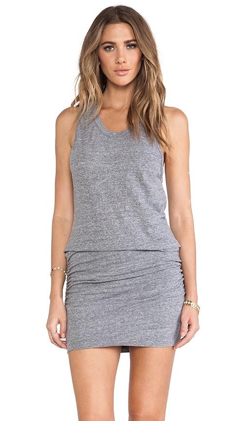 Granite Shirred Dress