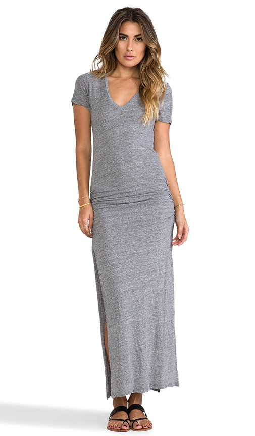 Granite Shirred Maxi
