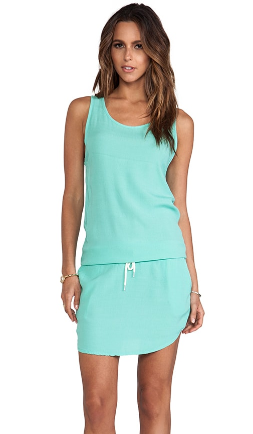 Crepe Basics Tennis Dress
