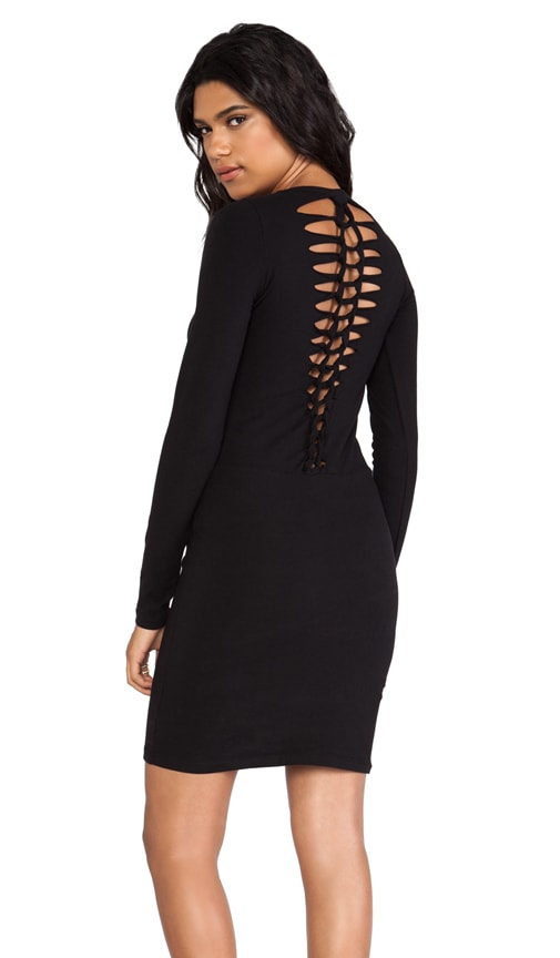 Heavy Stretch Cotton Braided Dress