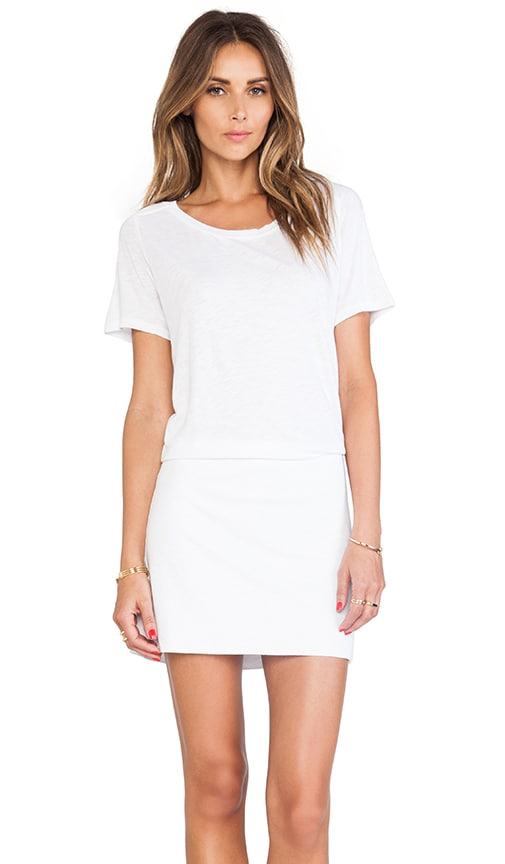 Slub Cotton Modal T-Shirt Dress