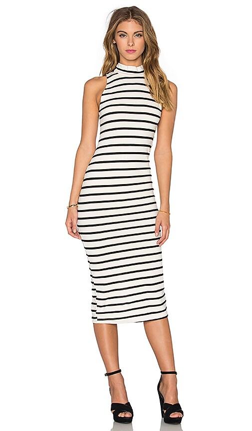 Sleeveless Turtleneck Dress