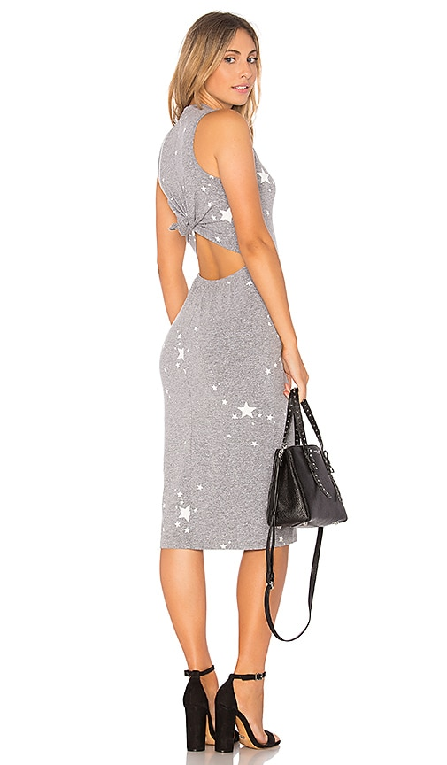 MONROW Star Dust Dress in Gray