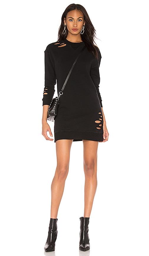 e429916131 Distressed Sweatshirt Dress. Distressed Sweatshirt Dress. MONROW