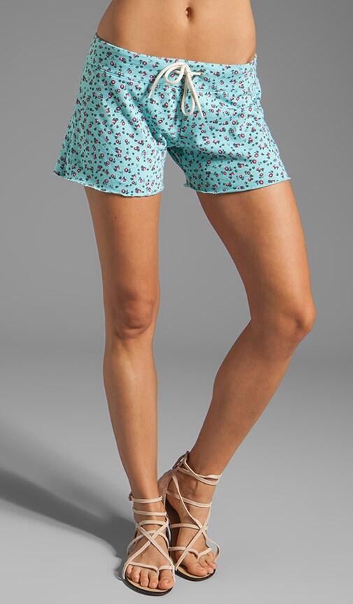 Ditsy Print Vintage Shorts