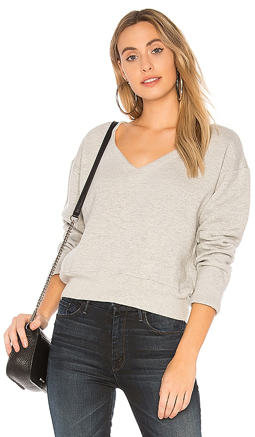 MONROW Cozy Sweatshirt in Gray