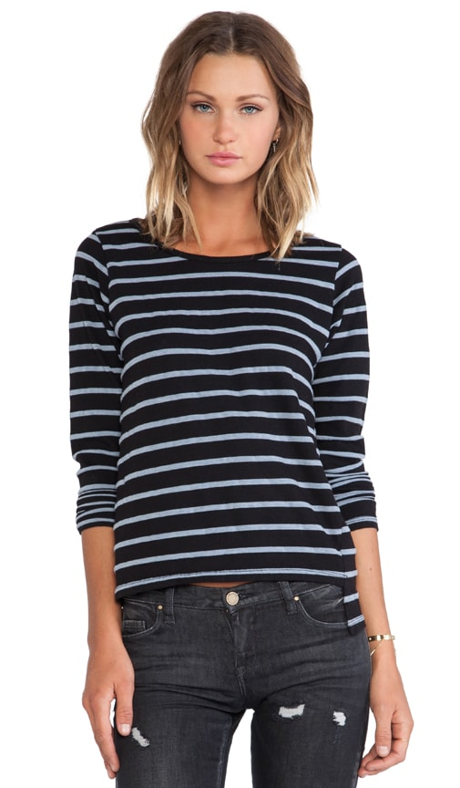 Denim Stripes French Tee