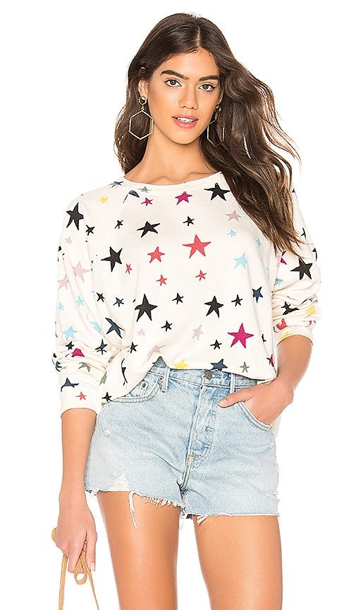 Oversized Raglan Sweatshirt
