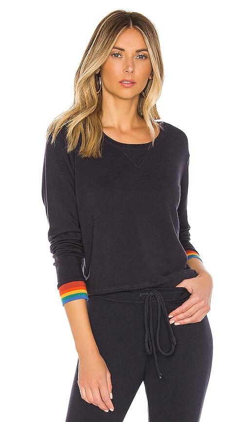 Rainbow Cuff Sweatshirt