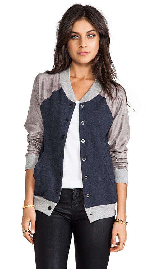 Athletic Bomber Jacket