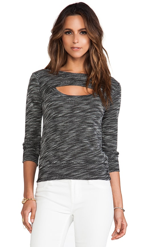 Luxe French Terry Open Sweatshirt