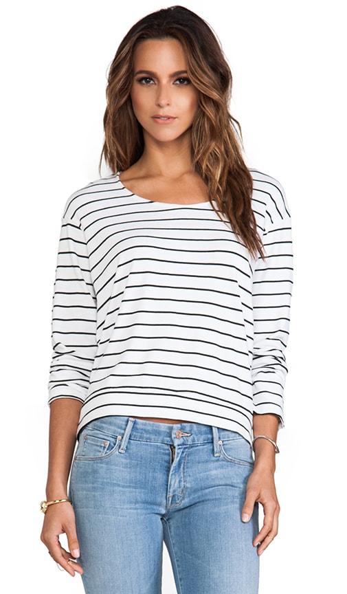 Pinstripe Sweatshirt