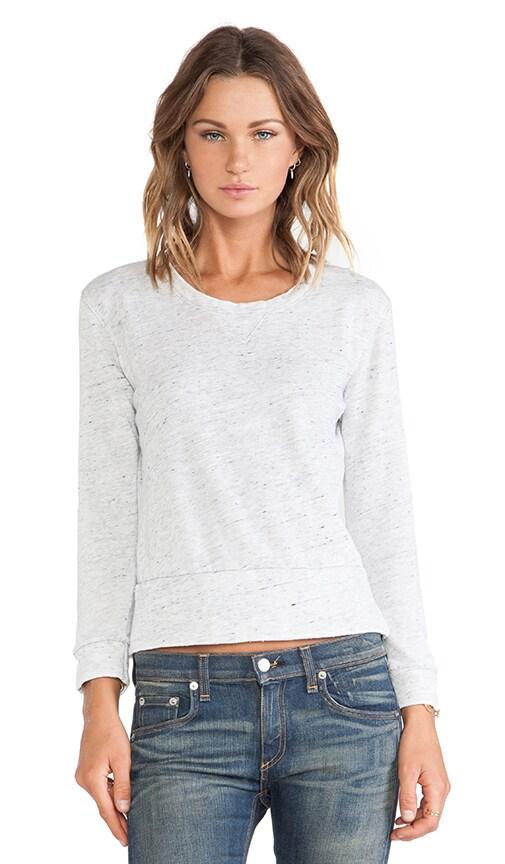 Vintage Neps Fleece Burn Out Crew Sweatshirt
