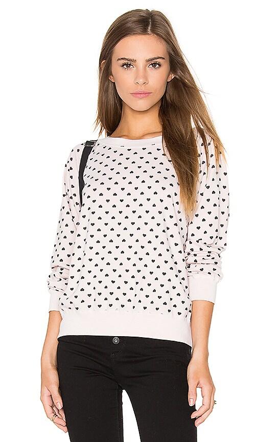 Polka Hearts Vintage Sweatshirt